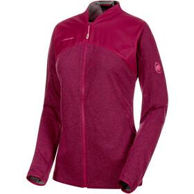 Mammut Alvra ML Jacket Dame pink melange-pink